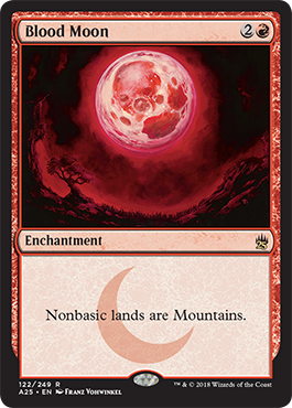 Blood Moon, Masters 25