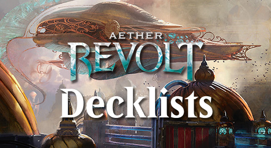 Pro tour aether revolt decklists