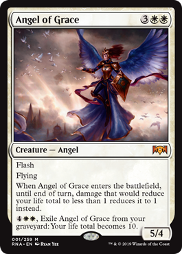Angel of Grace: Exclusive Ravnica Allegiance Preview