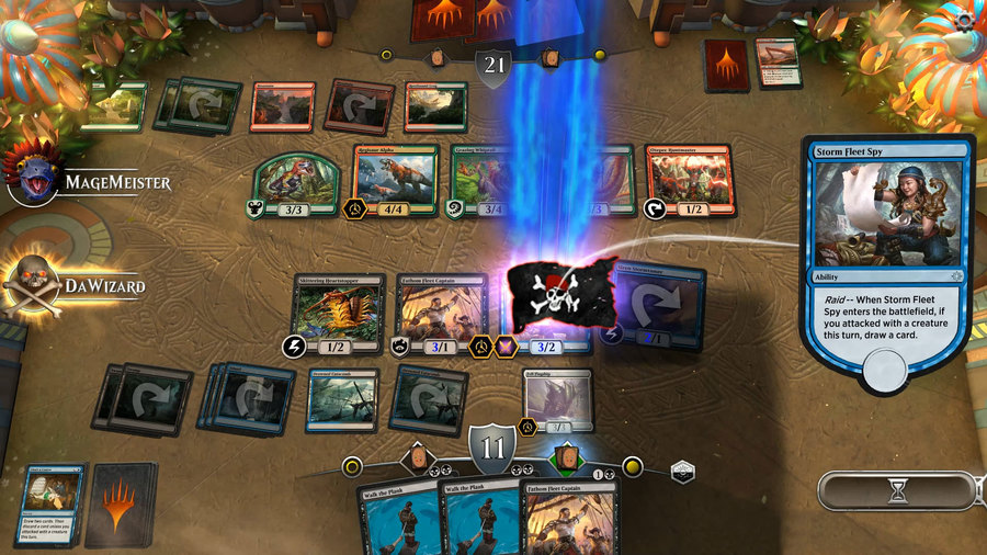 Magic: the Gathering Arena Battlefield