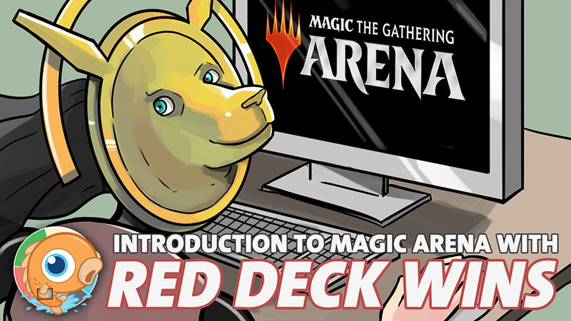 Introduction to Magic Arena with Red Deck Wins