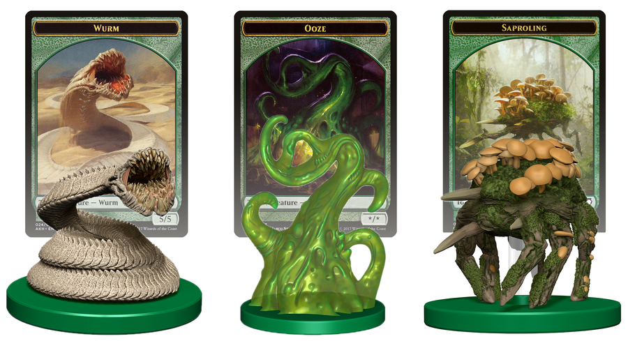 Magic: the Gathering Creature Forge - Wurm, Saproling, Ooze