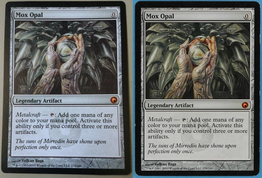 picture about Printable Mtg Proxies identified as The Untrue Card Trouble