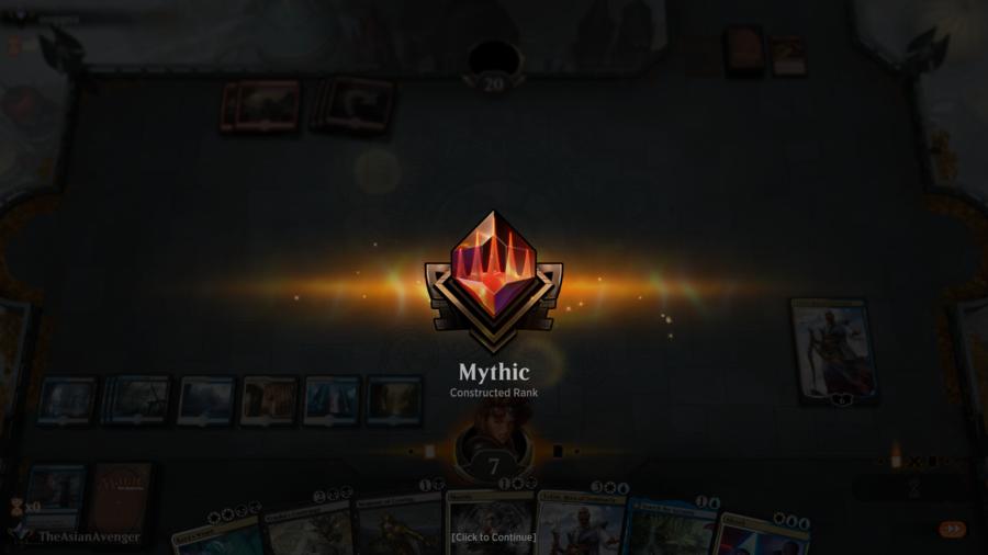 My Grind to Mythic Season 2 (Standard, Magic Arena)