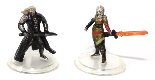 Sorin and Nahiri Miniatures