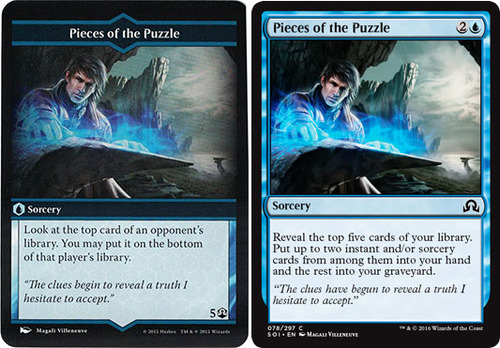 Pieces of the Puzzle: Arena of the Planeswalkers vs Magic the Gathering
