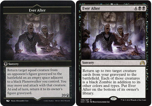 Ever After: Arena of the Planeswalkers vs Magic the Gathering