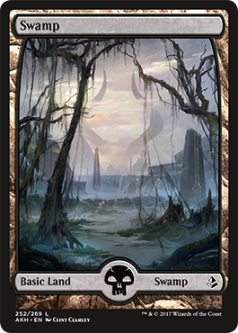 Image result for full art swamp amonkhet