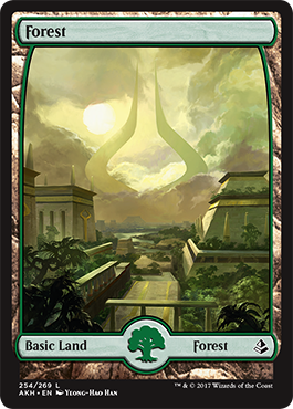Image result for full art forest amonkhet
