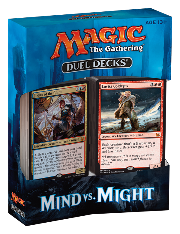 MTG Duel Decks: Mind vs. Might -  Wizards of the Coast
