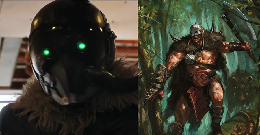 Spiderman's Vulture vs Magic: the Gathering's Garruk