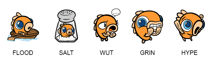 New Scoops Emotes for Twitch Subscribers