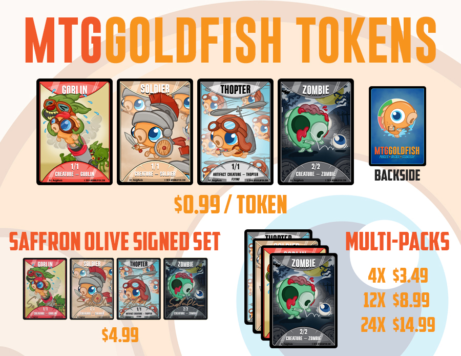 Tokens splash